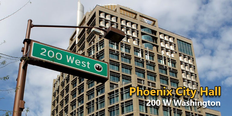 Where To Submit Sign Permits In Phoenix - Phoenix City Hall