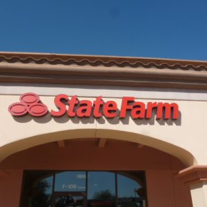 Exterior Business Sign - State Farm