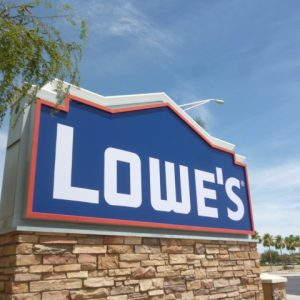 Monument Business Sign - Lowe's