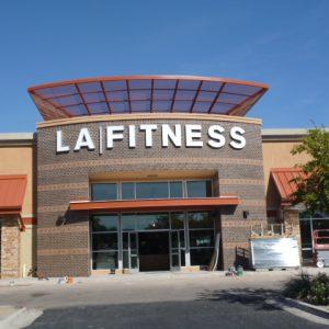 LA Fitness Sign Buckeye